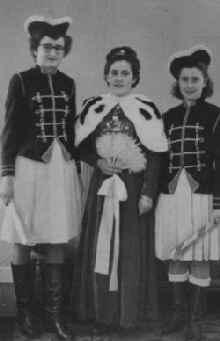 Funkenmariechen um 1950