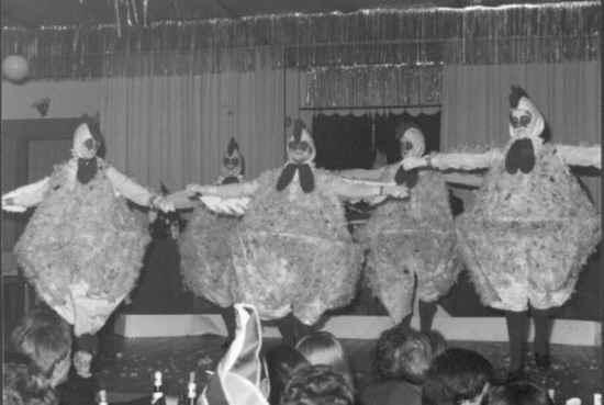 Tanzgruppe Die Hühner 1981